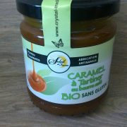 Caramel à Tartiner Nature BIO en pot de 220g