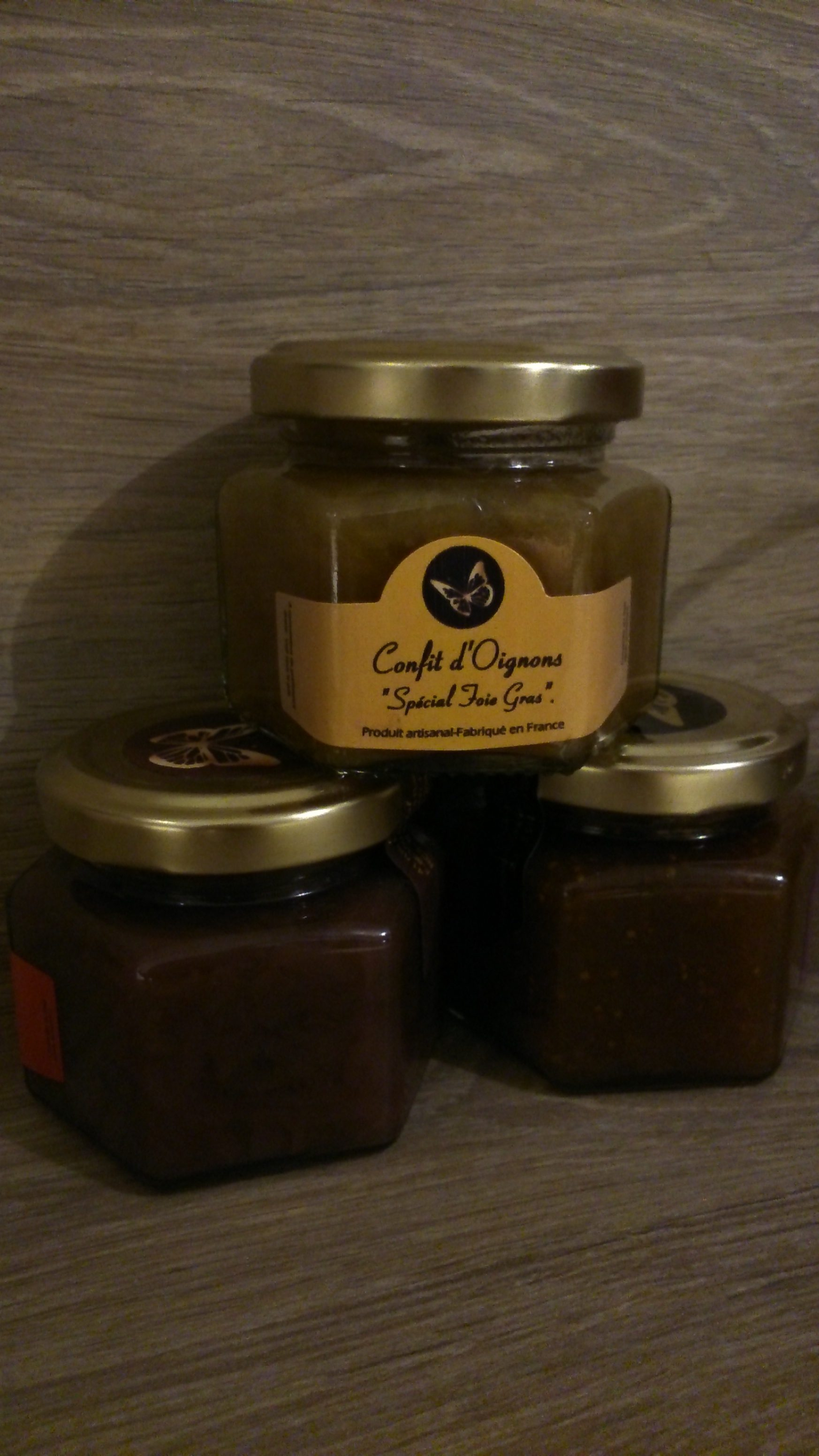 confit d oignons sp cial foie gras pot de 100g la tourn e des saveurs. Black Bedroom Furniture Sets. Home Design Ideas