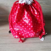 "Sac conservation salade ""Pois rouge"""